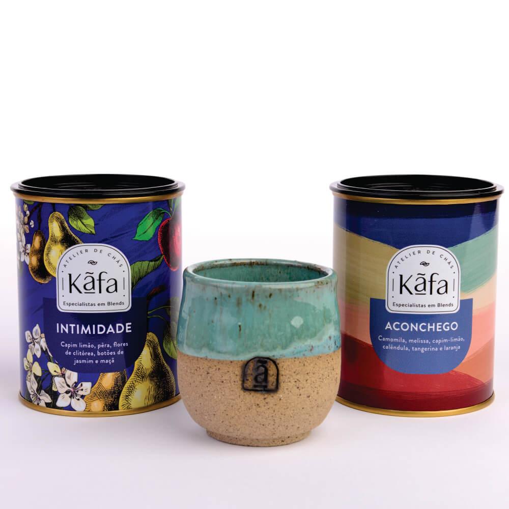 Kit Chá Camomila E Capim Limão LUA